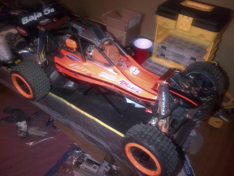 Orange Crush :: 2011 HPI Baja 5B SS - RCLargeScale
