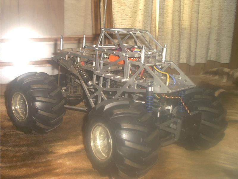 Monster truck :: 1995 Custom built 1/5 scale monster truck - Page 2